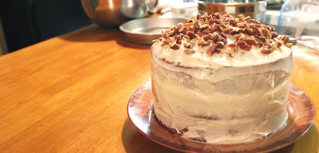 pecan cream cake | This American Plate